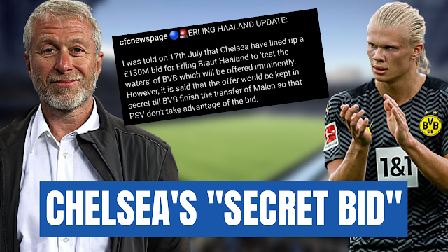 More Erling Haaland to Chelsea Transfer Nonsense!