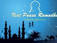 Niat Puasa Ramadhan Sebelum Do'a Makan Sahur 1440 Hijriyah 2019 Masehi