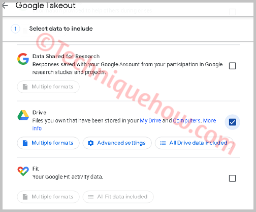 Google takeout file transfer to drive