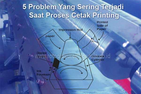 5 Problem Yang Sering Terjadi Saat Proses Cetak Printing