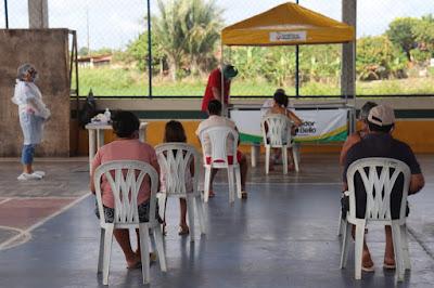 Prefeitura Monta Centro de Triagem e Testagem do Covid-19 em Gov.Newton Bello
