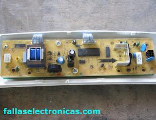 Cómo reparar tarjeta lavadora Electrolux ELAV-9700AI