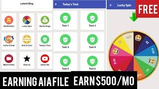 FB-Ads App Aia File Put your Ads and Earn Money