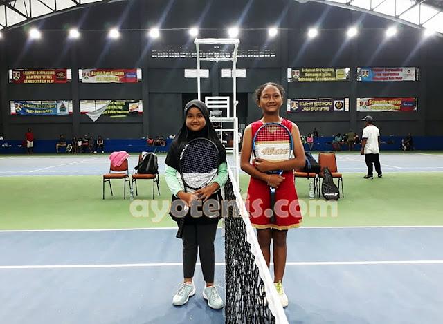 Ica Melaju ke Semifinal Kejurnas Tenis Yunior New Armada Cup XXIV