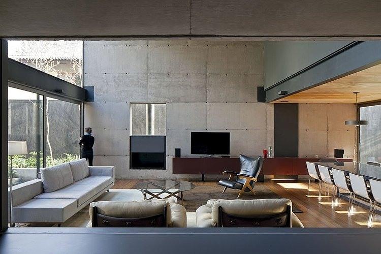 Casa bacopari una arquitectos revista arquitectura y for Construccion escaleras interiores