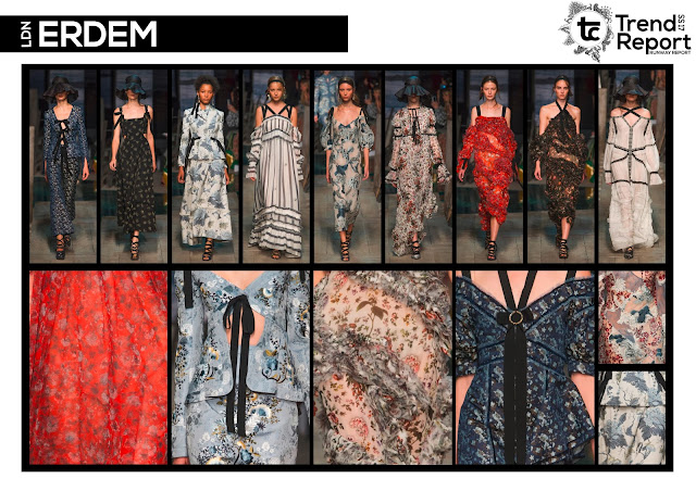 Textile Candy, fashion blog, runway collections, catwalk collections, Spring/Summer 2017, SS17, runway favourites, Erdem, London fashion week