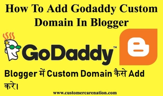 Blogger में Custom Domain कैसे Add करे।
