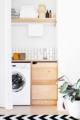Idéias de design de salas de lavandaria
