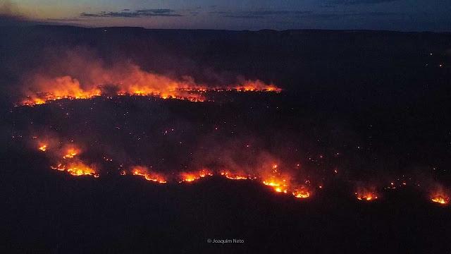 Inpe diz que Piauí é o estado do Brasil com mais focos de incêndio em setembro
