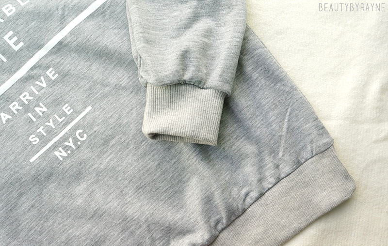 Romwe Fashionably Late Sweatshirt Review