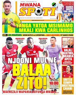 Habari kubwa za Magazeti ya Tanzania leo December 30, 2020