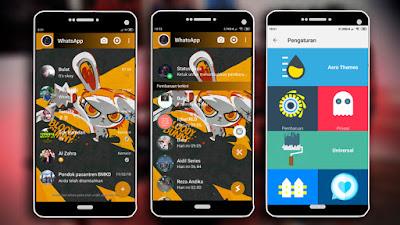 Download Tema WhatsApp Aero Keren Terbaru 2019 - Next ...