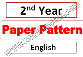 English fa part 2 paper pattern from punjab boards