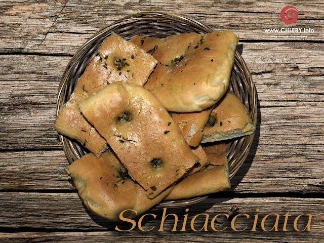 Schiacciata, czyli płaski chleb toskański