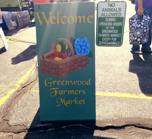 exploring: greenwood farmer's market