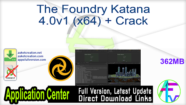 The Foundry Katana 4.0v1 (x64) + Crack