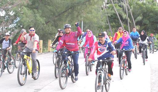 Pencinta Sepeda Selayar, Teken Deklarasi Tolak Kekerasan Dan Aksi Anarkis