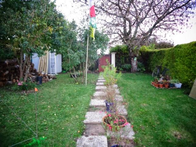 gd paysage cr ation d 39 un jardin d 39 ambiance plantations en pots cr ation d 39 une petite terrasse. Black Bedroom Furniture Sets. Home Design Ideas