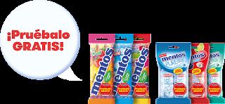 Pide reembolso para probar gratis Mentos Multipack Caramelo o Chicle