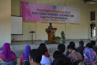 Pelatihan Kurikulum 2013 Bagi Guru Sasaran Jenjang SMK Kabupaten Grobogan