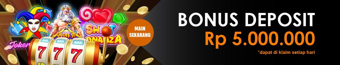 Bonus Deposit Slot Online Terbesasr