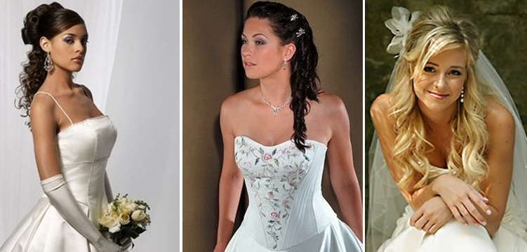 Types Of Bridal Hair-Do's