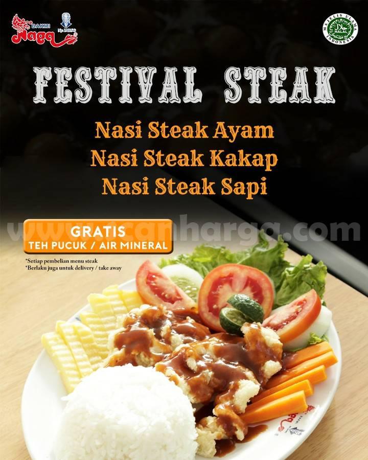 Bakmi Naga Festival Steak Juli 2021