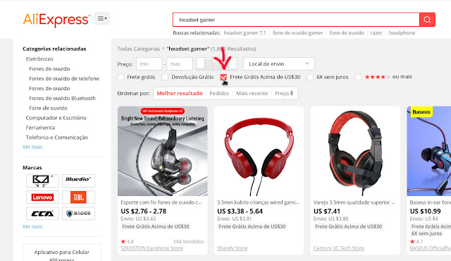 Aliexpress Direct Como Encontrar Produtos