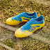 Sepatu Bola Umbro Velocita III Pro FG Blazing Yellow Electric Blue