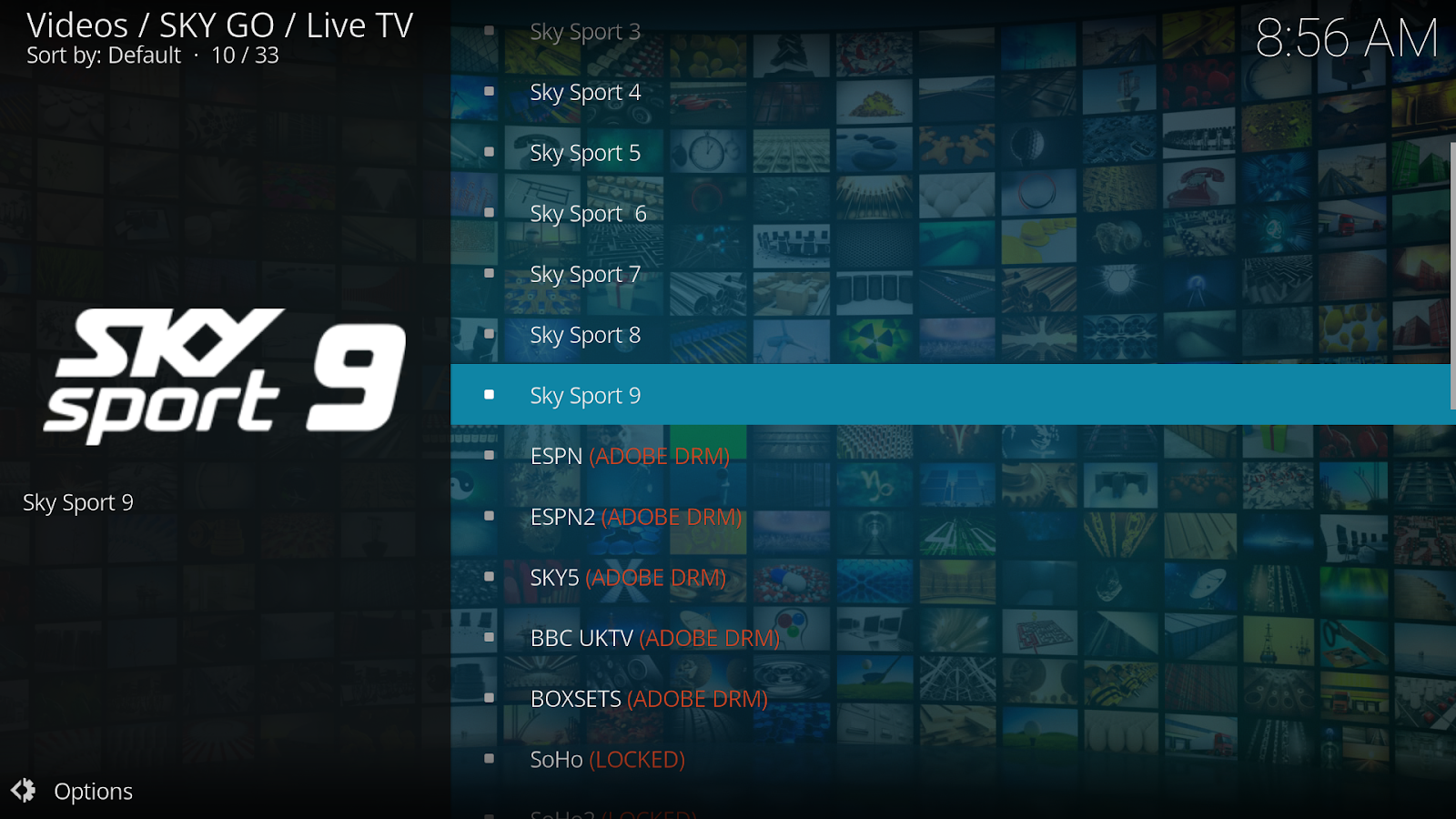 Sky Go Kodi Add-on