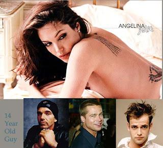 Angelina jolie ex boyfriends
