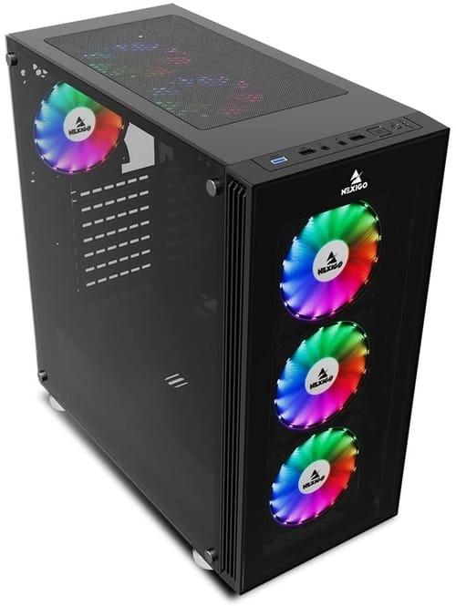 Review NexiGo Quantum-Flux QF6601 Computer Case