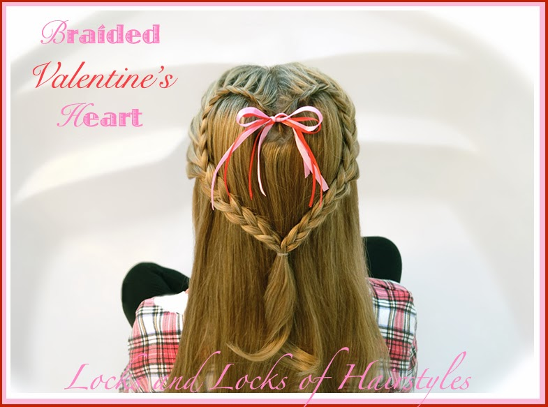 Valentines Hairstyles: Locks And Locks Of Hairstyles: Quick And Easy Video