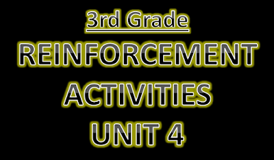 Reinforcement Activities Unit 4