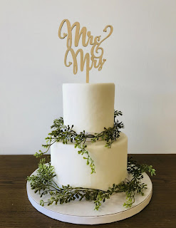 wonderful laser cut wedding cake toppers for rustic wedding themes