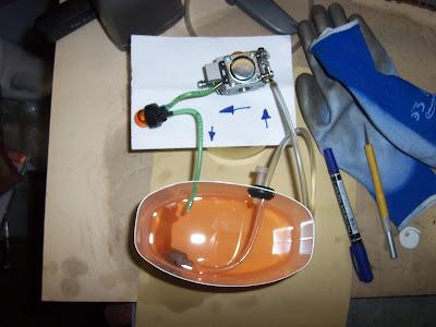 fűkasza karburátor gumicumi