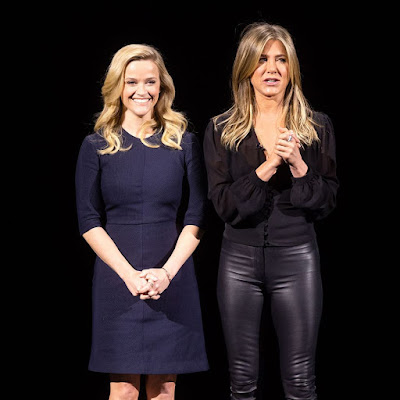 The Morning Show Series Jennifer Aniston Reese Witherspoon Image 4