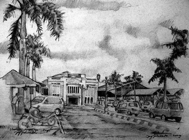 Skertsa Stasiun Kereta Api Tugu Jogjakarta