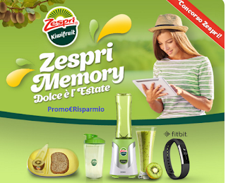 Logo Vinci centinaia di premi con Zespri Memory, dolce è l'estate