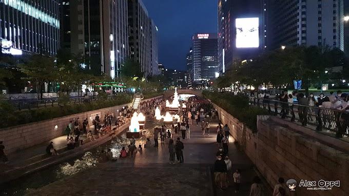 ชมเทศกาลโคมไฟดอกบัว และการประดับไฟสุดสวยงาม น่าประทับใจคลองชองกเยชอน CheongGyecheon (청계찬) Ep.2