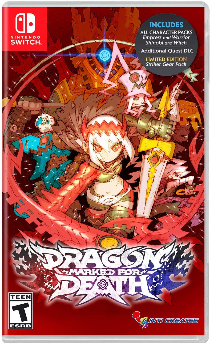 Dragon Marked for Death XCI Switch
