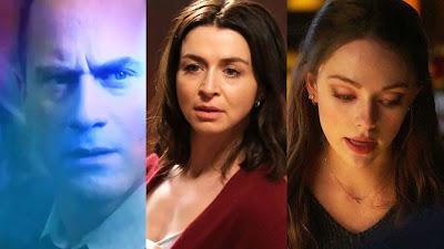 "Law and Order Organized Crime  ""Stabler Returns"" - Grey's Anatomy 17x09 - Legacies 3x08"
