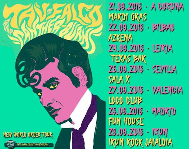 Que vuelve Tav Falco!!!! -  6 citas gira española