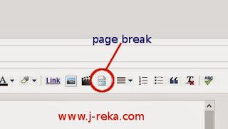 page break blog