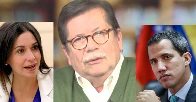 Presidente de TELESUR Leopoldo Castillo criticó a Guaidó y a MariCori