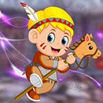 G4K Stick Horse Boy Escape