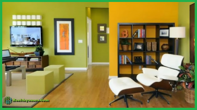 Green color For Living Room