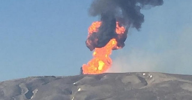 В Азербайджане проснулся грязевой вулкан Отман-Боздаг