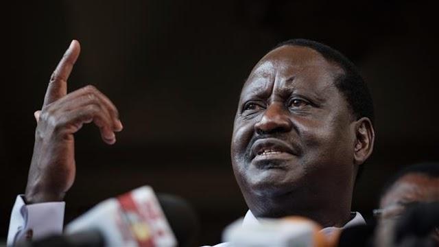Kenya opposition Raila Odinga calls for mass protests
