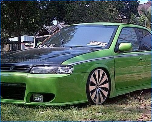 Modifikasi Mobil Timor Dohc